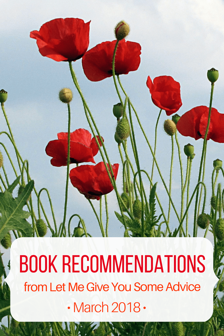 Monthly Book Recommendations from Let Me Give You Some Advice - April 2018. Find out what I'm reading and get advice for your to-be-read list. This month's picks include  Sing, Unburied, Sing by Jesmyn Ward, Next Year in Havana by Chenel Cleeton, and How to Fix A Broken Record by Amena Brown.
