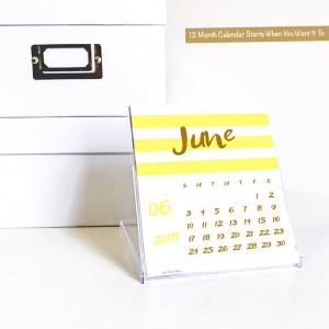 Unique Teacher Appreciation Gifts - desk calendar