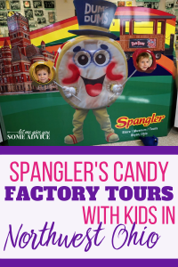 Spangler Candy Factory Tours offer your kids a chance to see just how Dum Dums suckers are made! Ohio