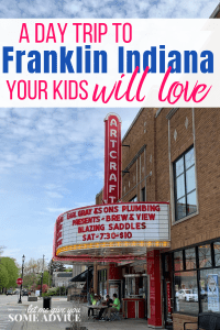 Franklin Indiana with kids - a family day trip from Indianapolis