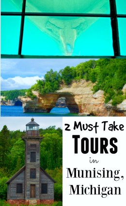 Fun Places to Visit in Michigan with kids - Munsing boat tours from Exploration America