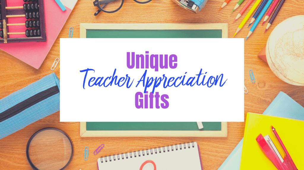 unique stylish Teacher appreciation gifts