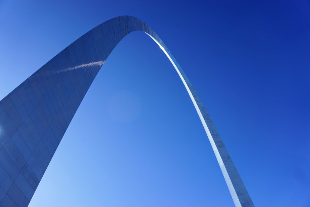 St Louis Family Trip - arch photo