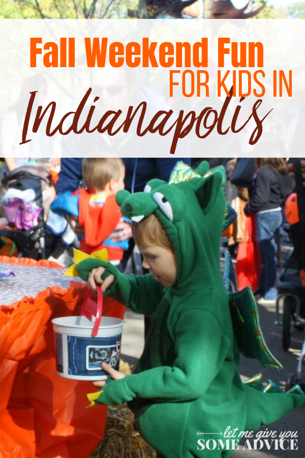 Check out our perfect itinerary for fall weekend with kids in Indianapolis. Plan a fall break getaway or staycation with these fall activities for kids in Indy. Indianapolis | Fall Fun for Kids | Fall Getaway for Kids | Lark Ranch | Conner Prairie Headless Horseman | Zoo Boo | Indianapolis Pumpkin Patch | Indianapolis Fall Activities | Indiana | Fall Break Getaway