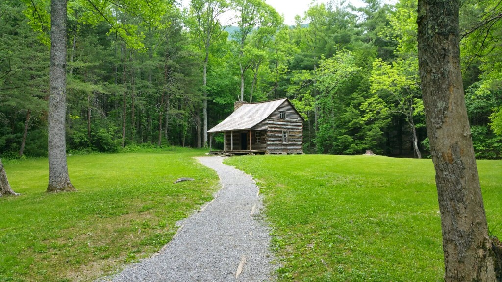 Fall Break Vacation Ideas for Families - Gatlinburg old cabin