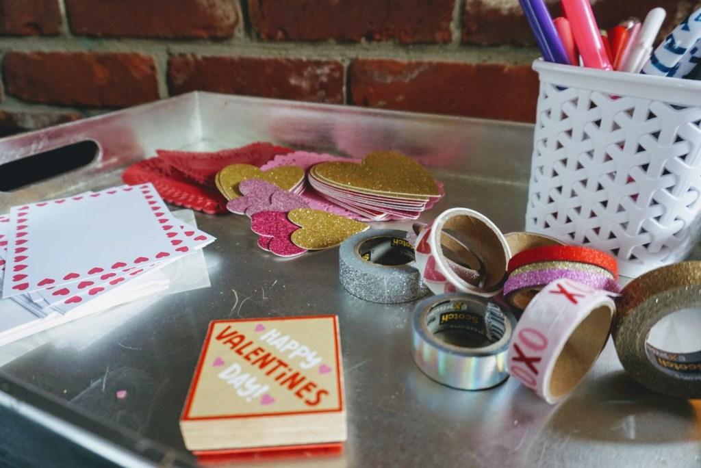 Valentine's Mail Station - supplies