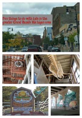 Fun Places to Visit in Michigan with kids - Grand Rapids from Just Me Regina