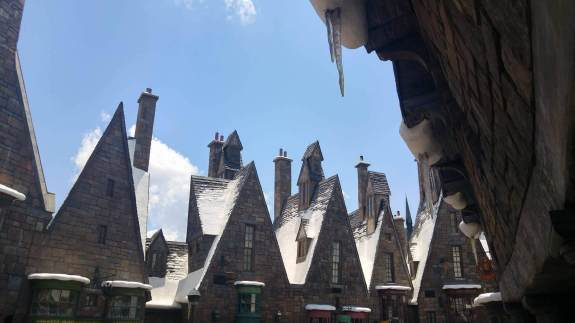 neige harry potter Orlando Universal