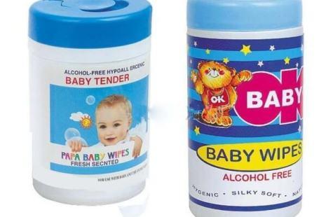 Lingettes pour bébé pour se laver en road trip voyage