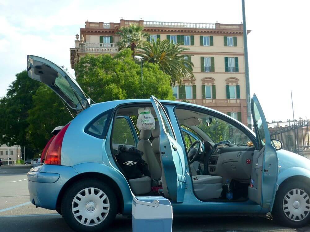 road trip italie