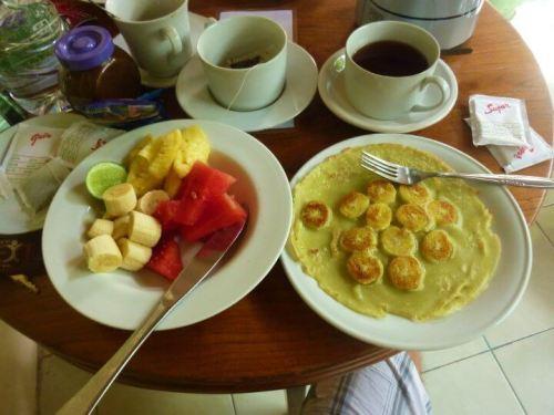 banana pancakes indonésie bali