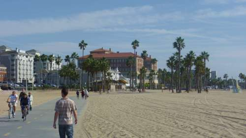 Santa Monica beach los angeles