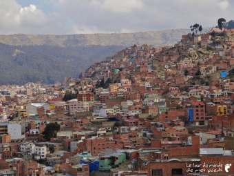 Panorama sur La Paz