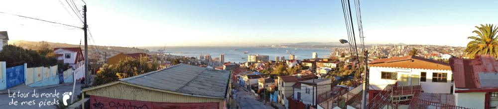 Panorama Valparaiso chili