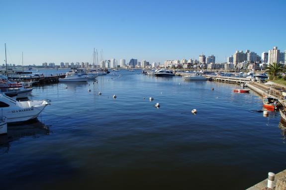 Punta del Este port