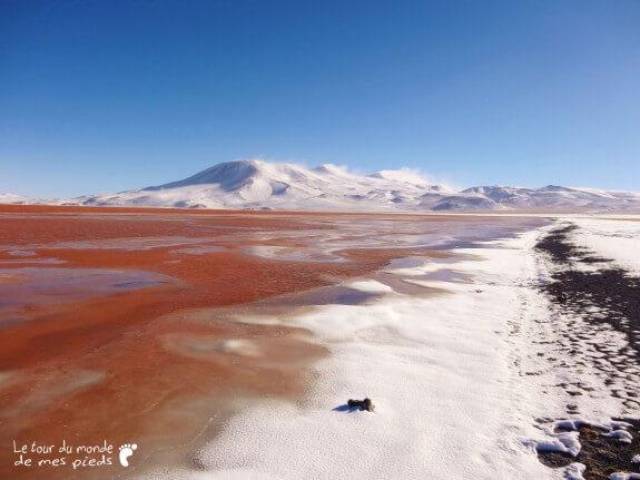Laguna colorada panorama
