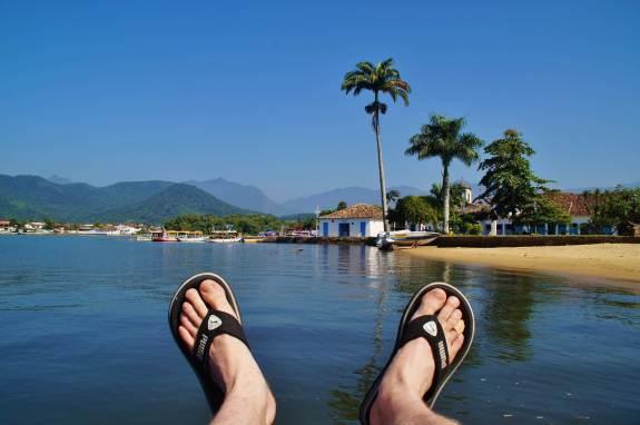 Paraty brésil panorama