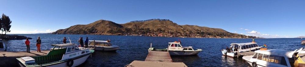 detroit de tiquina panorama bolivie