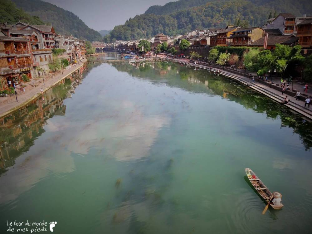 Fenghuang China panorama