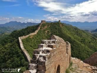 panorama depuis la grande muraille