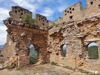 partie non rénovée grande muraille