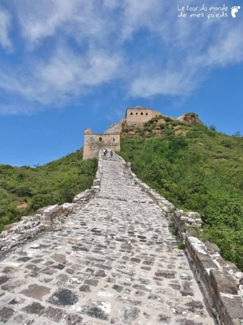 montée grande muraille
