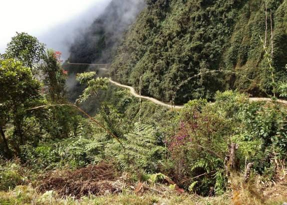 route de la mort en bolivie