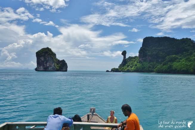 Chicken Island Krabi bateau