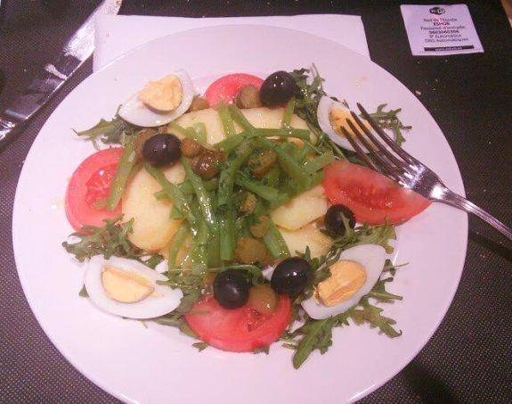 salade niçoise barcelone