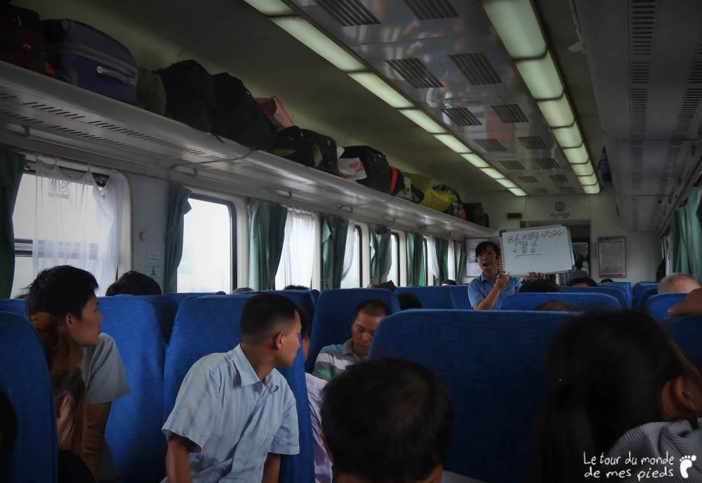 prendre le train en chine