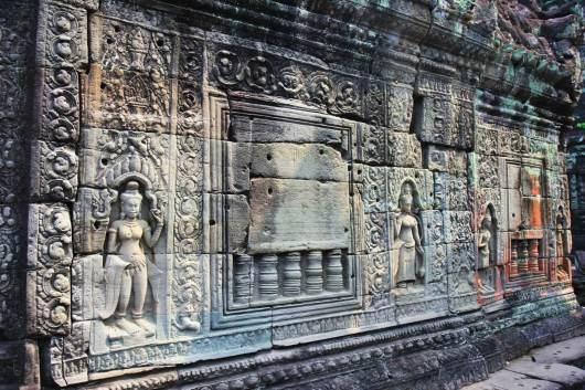 Temple Angkor Intérieur