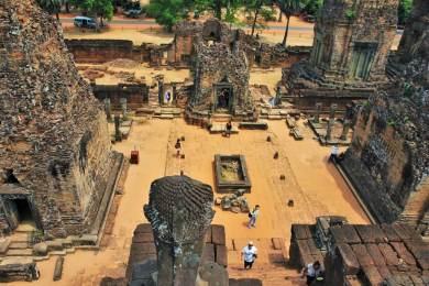 Temple Angkor Panorama