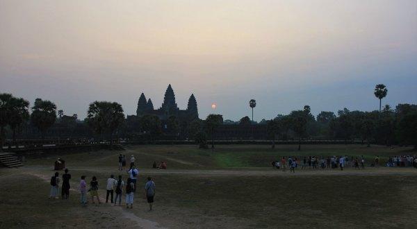lever de soleil sur angkor