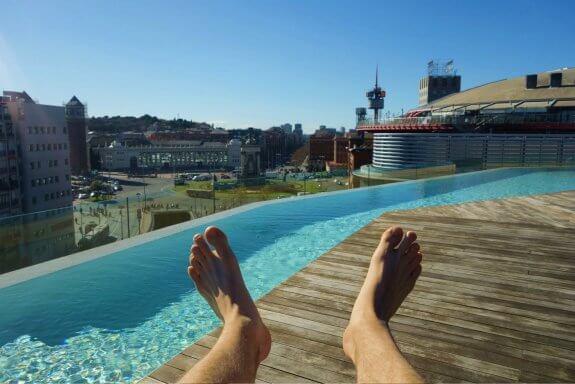 B Hotel Barcelone Panorama