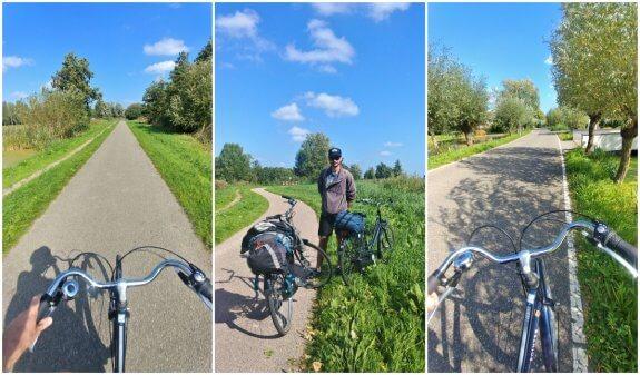 Vélo Gouda route
