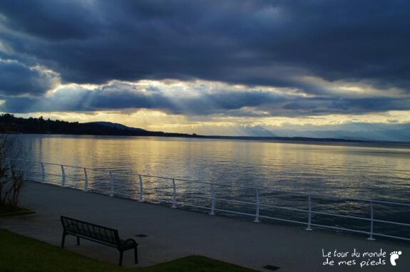 Lac Leman thonon