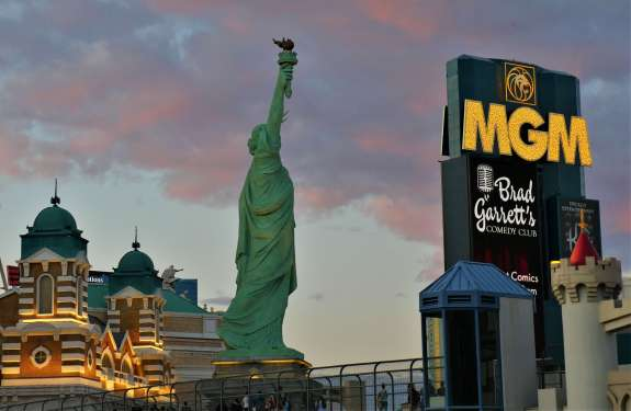 Strip Las Vegas Statue of Liberty