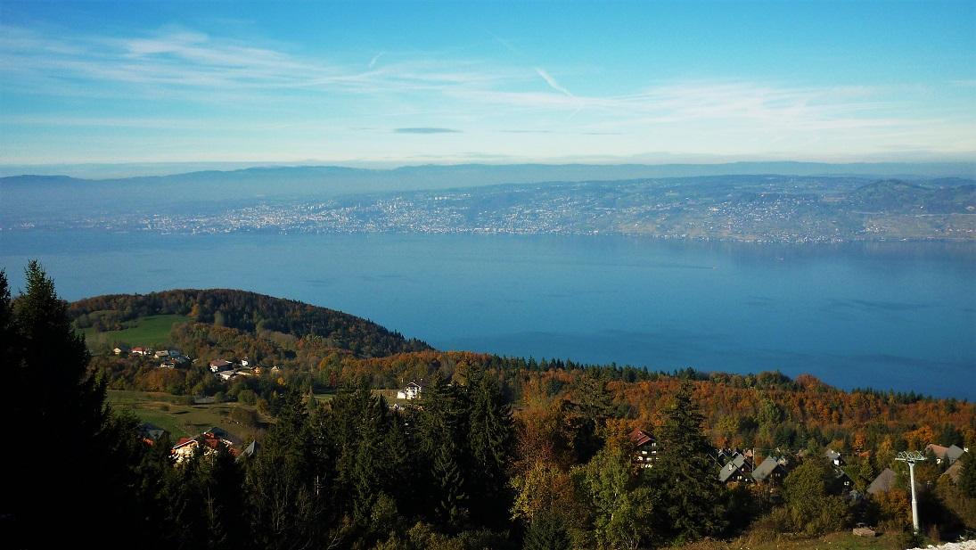panorama lac Leman