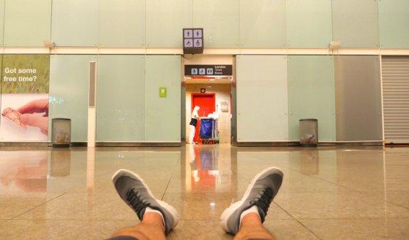 nuit aéroport barcelone