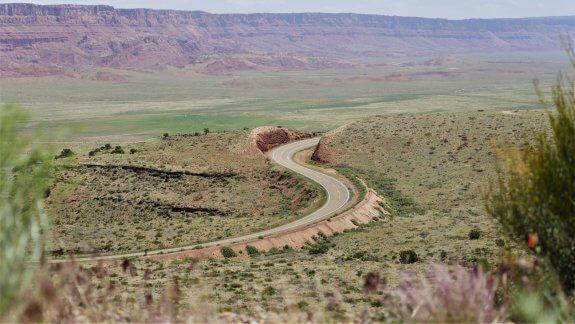 road 89A usa road trip