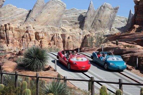 Disney Radiator Springs Racers