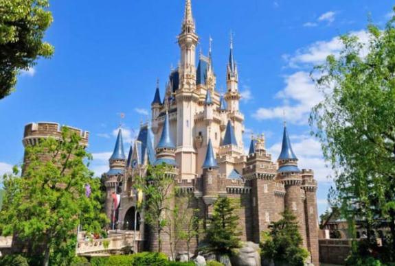 Disneyland Tokyo Castle