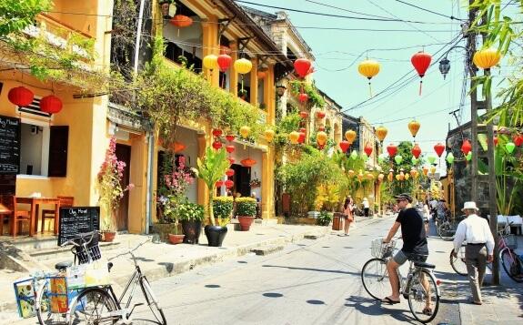 hoi han vietnam lampions