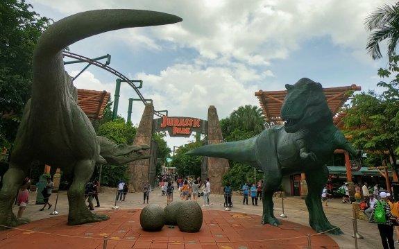 Singapore Universal Studios Jurassic Park