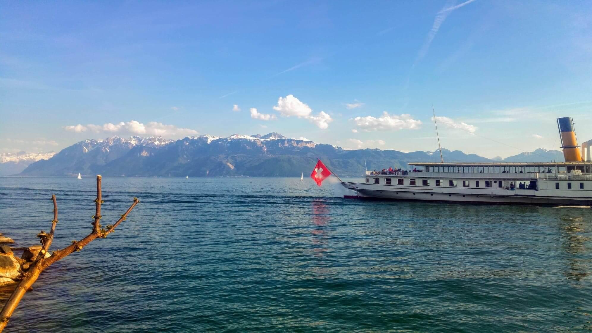 Leman côté Suisse