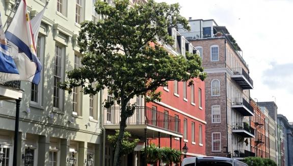 façades nouvelle orleans