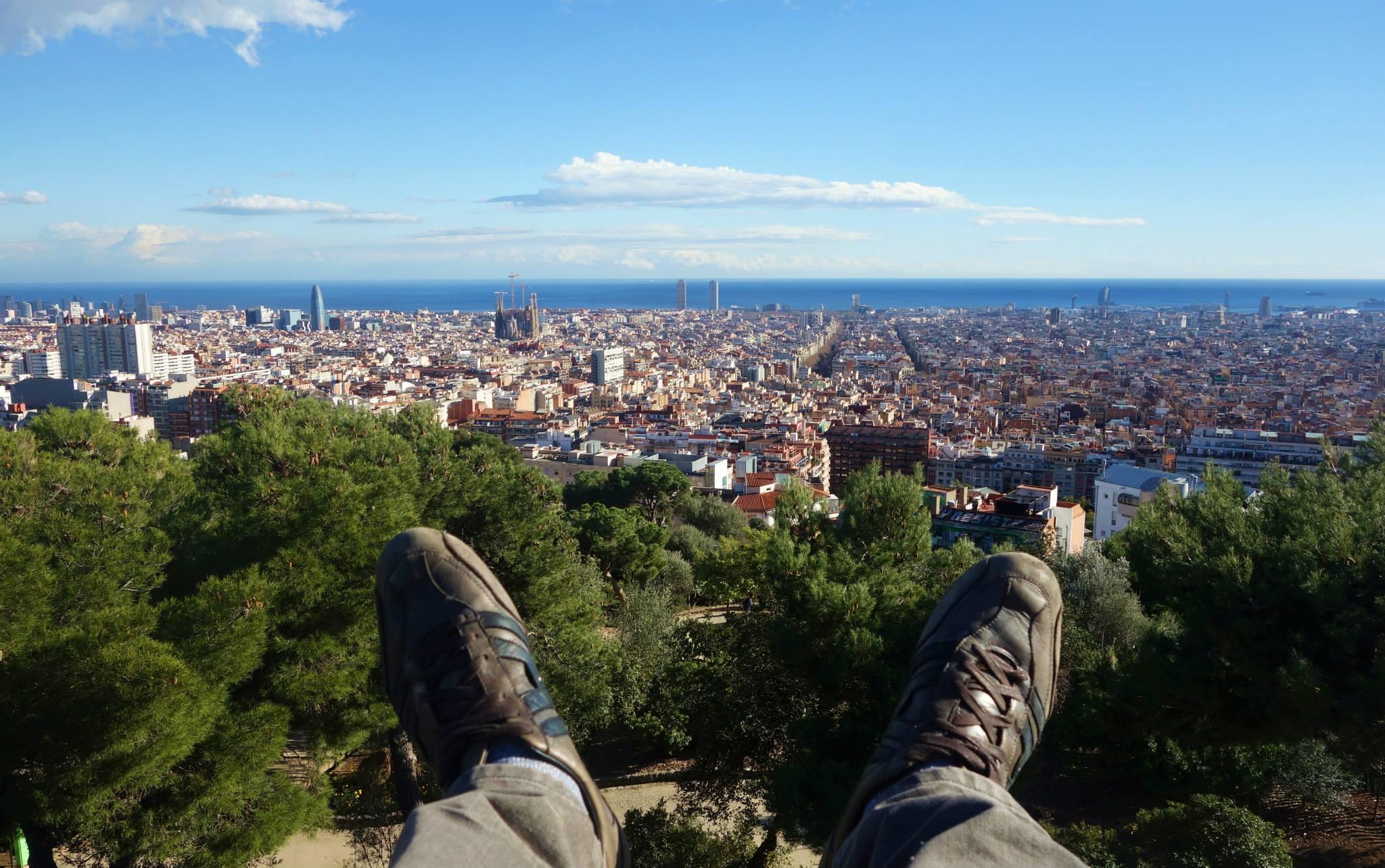 panorama Barcelone