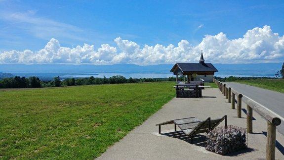 Panorama de Champeillant vue Lac