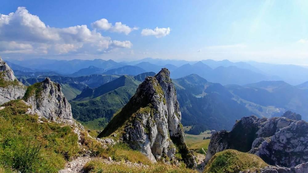 panorama sommet Dent d'Oche