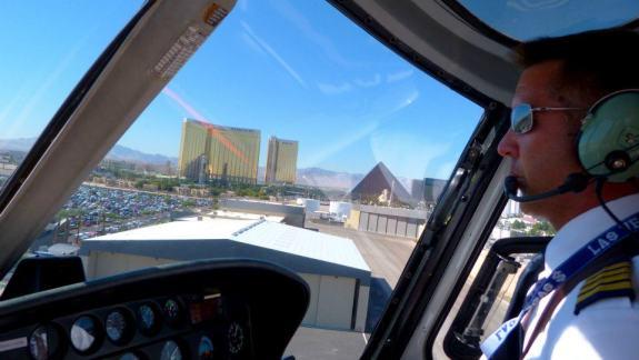 pilote hélicoptère Las Vegas